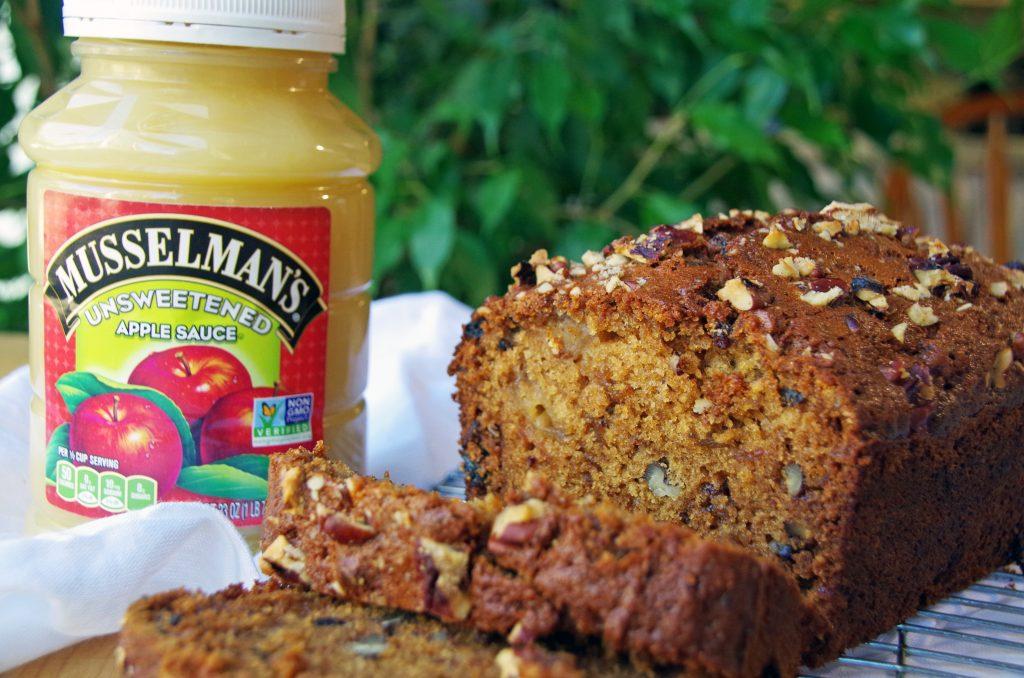 Musselman's Applesauce and Homemade Applesauce Bread