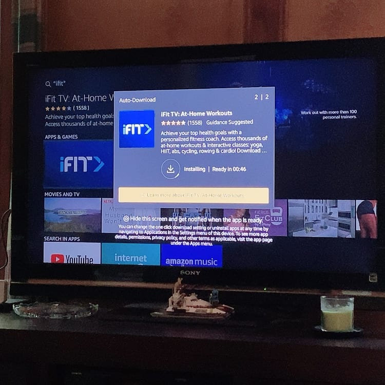 ifit app on fire tv