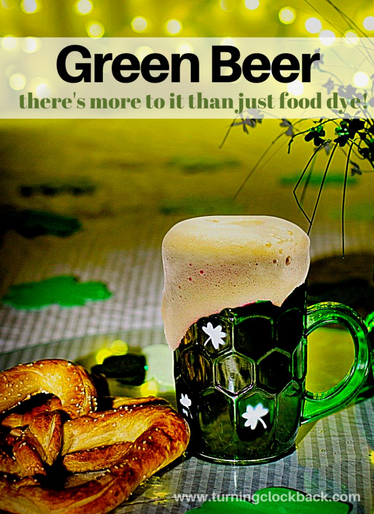 Green beer for Saint Patrick's Day. There's more to it than just adding food dye!