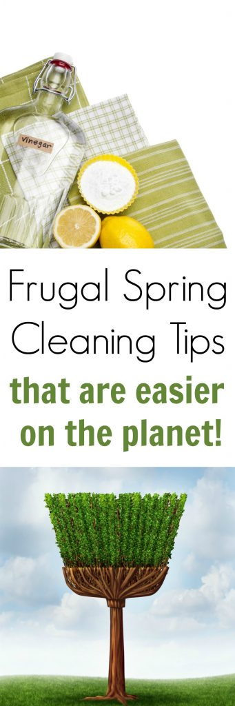 Here are a few frugal spring cleaning tips that not only help you live greener but will also allow you do save a little bit of m