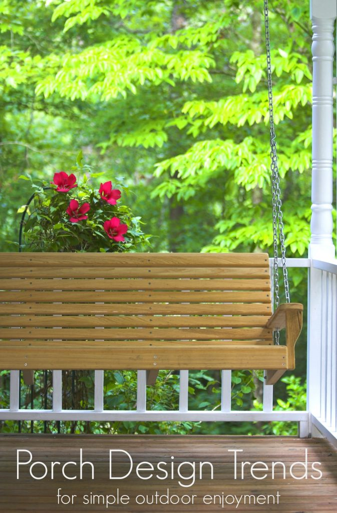 6 Porch Design Ideas for Simple Outdoor Enjoyment