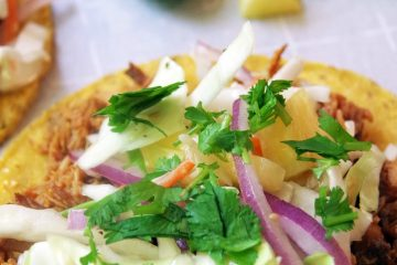 BBQ Pulled Pork Taco Recipe with Pineapple Coleslaw