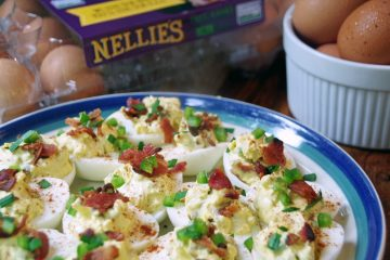 Zesty Jalapeno and Bacon Deviled Egg Recipe and Choosing the Best Eggs