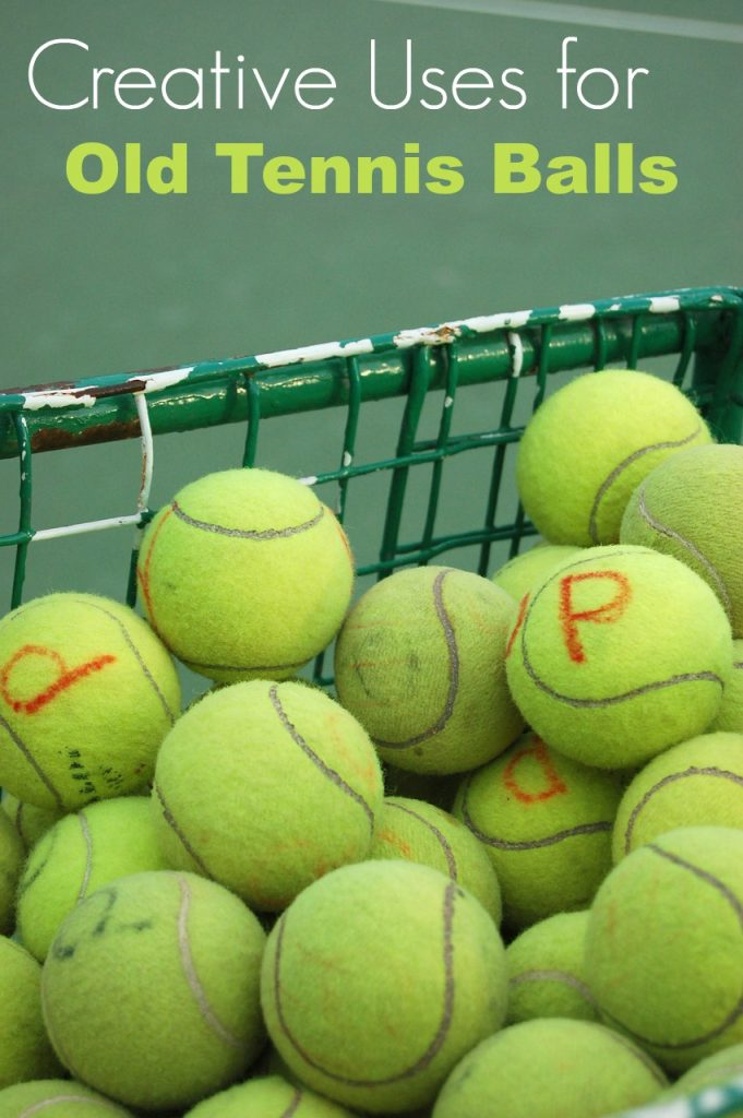 Wondering how to reuse tennis balls when they get old? Here are a few creative uses for old tennis balls that may help you use them again and again!