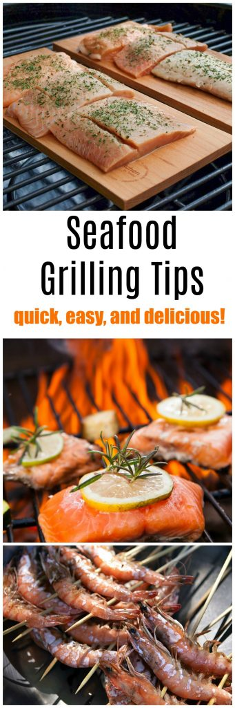 Looking for a few seafood grilling tips now that the weather is warm? Here are a few tips on how to grill seafood for a mouthwatering meal every time!
