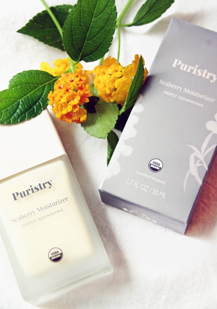 Puristry Natural Moisturizer