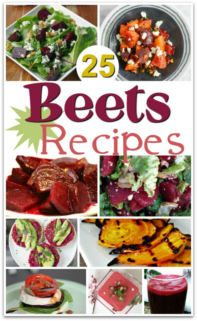 Looking for the best beet recipes? Here is a roundup of some easy beet recipes from some of my favorite bloggers!