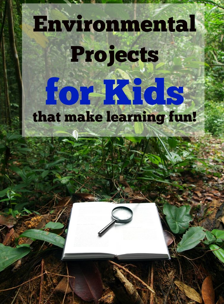 Environmental Projects for Kids that make learning fun!