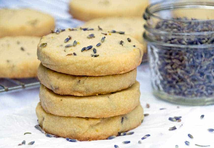 Lavender Shortbread Cookie Recipe