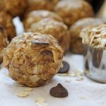 This Peanut Butter Energy Bites Recipe takes only 10 minutes to make and is loaded with fiber and protein