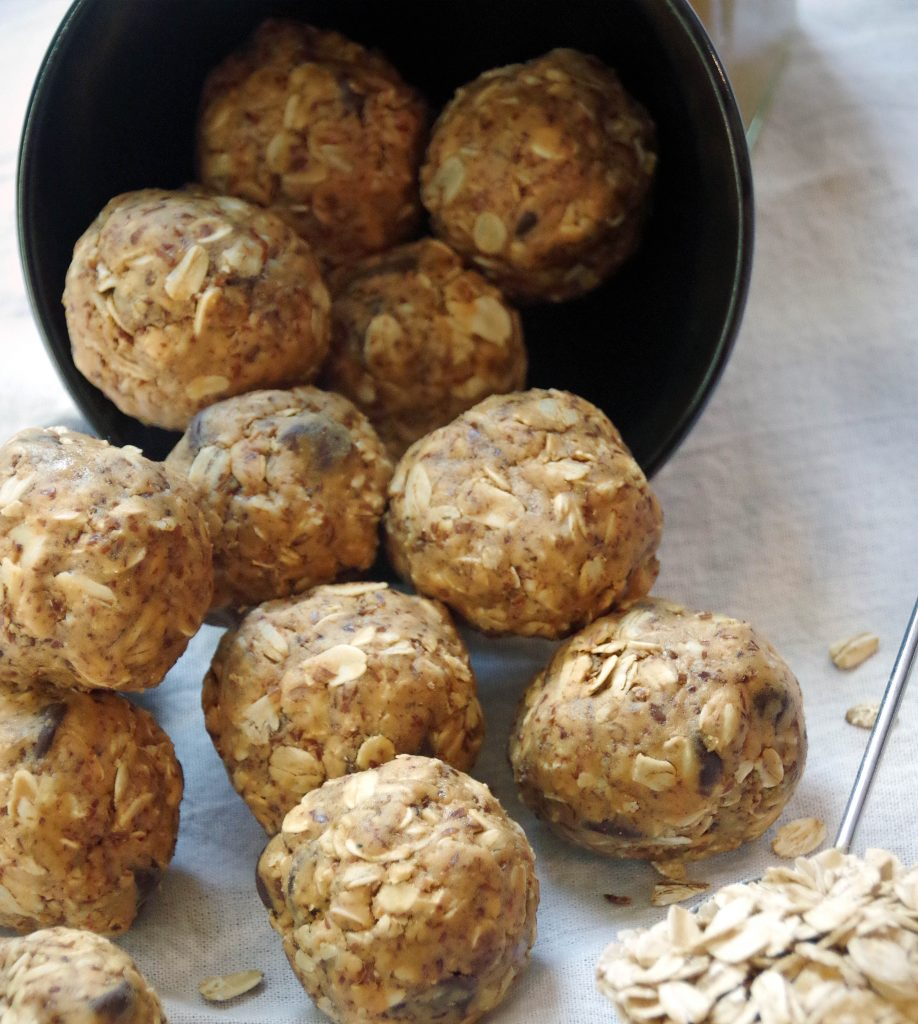peanut butter oatmeal energy bites recipe