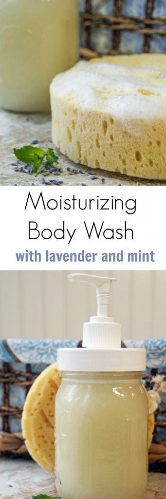 DIY Moisturizing Body Wash for Dry Skin