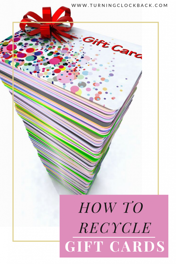 Gift Card Recycling and Ways to Upcycle them