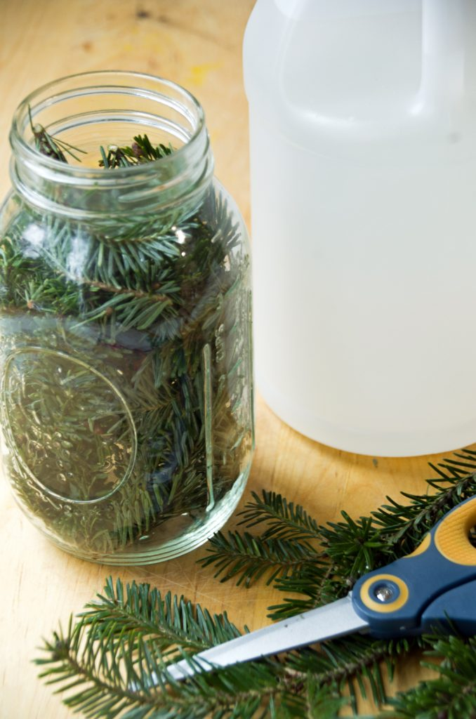 Pine Vinegar Homemade Kitchen Cleaner
