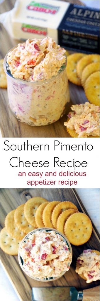 Southern Pimento Cheese Recipe for a Deliciously Easy Appetizer!