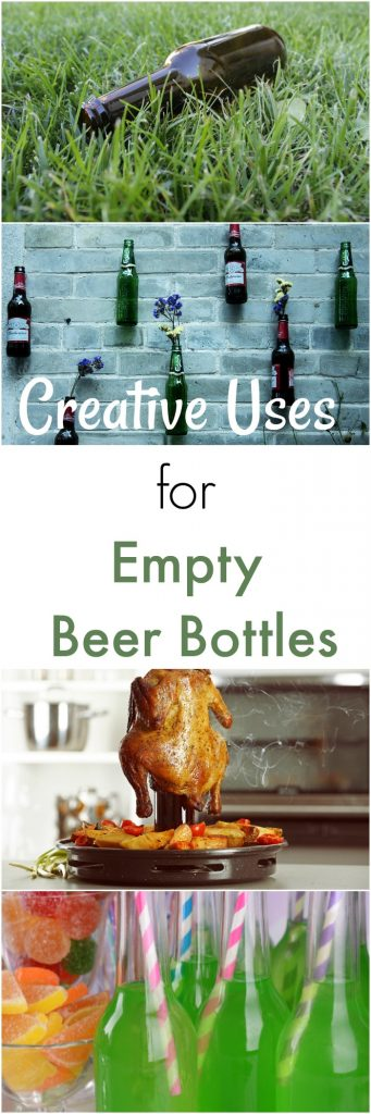 Empty Beer Bottle Uses to Save Time and Money While You Live Greener!