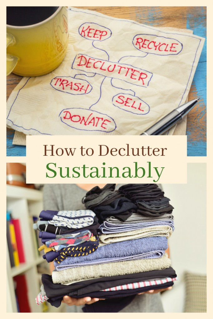 How to Declutter Sustainably