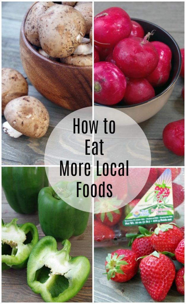 Tips to Eat More Local Foods this Year