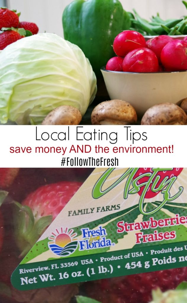 Tips to Eat More Local #FollowTheFresh