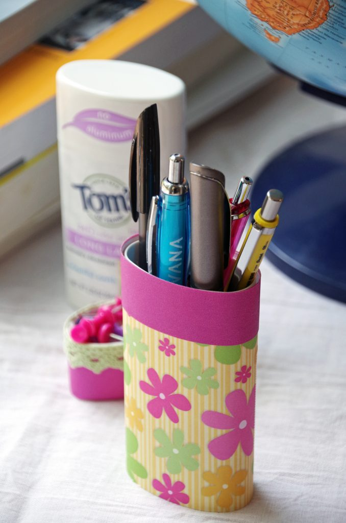 Upcycled Deodorant Container