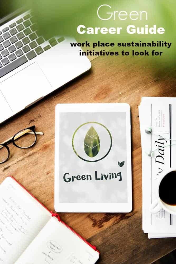 Green Career Guide. Sustainability Initiatives to look for in a future employer