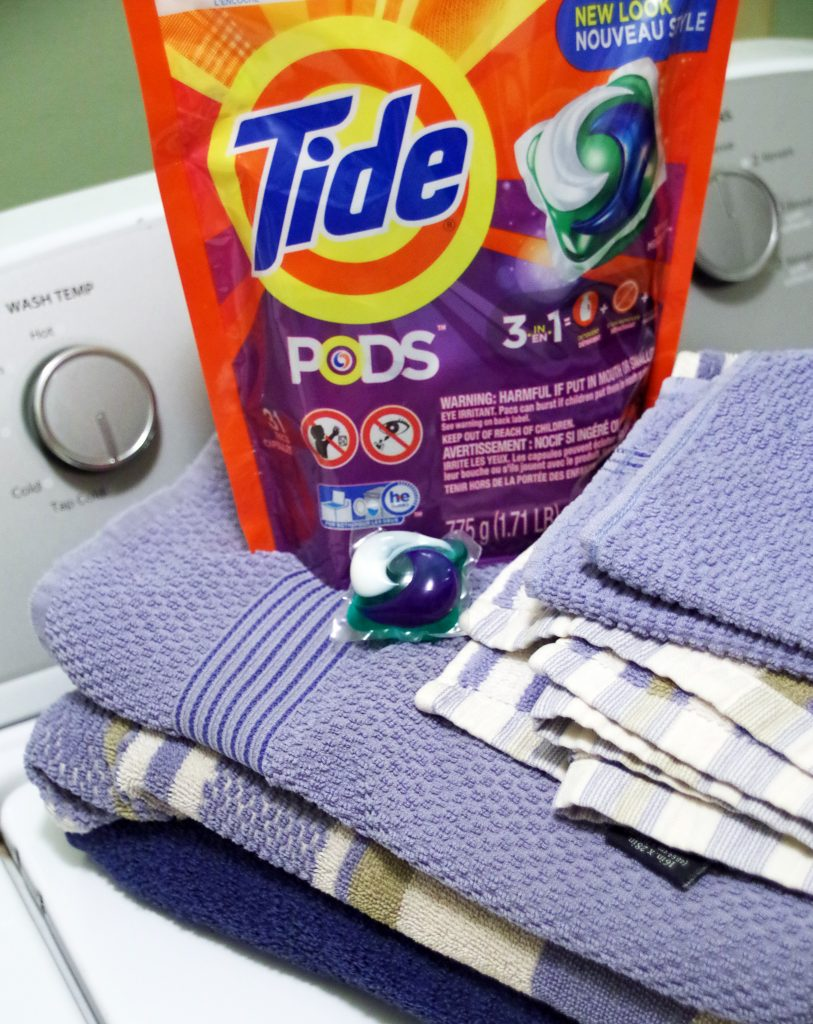 Laundry Tips with Tide PODS