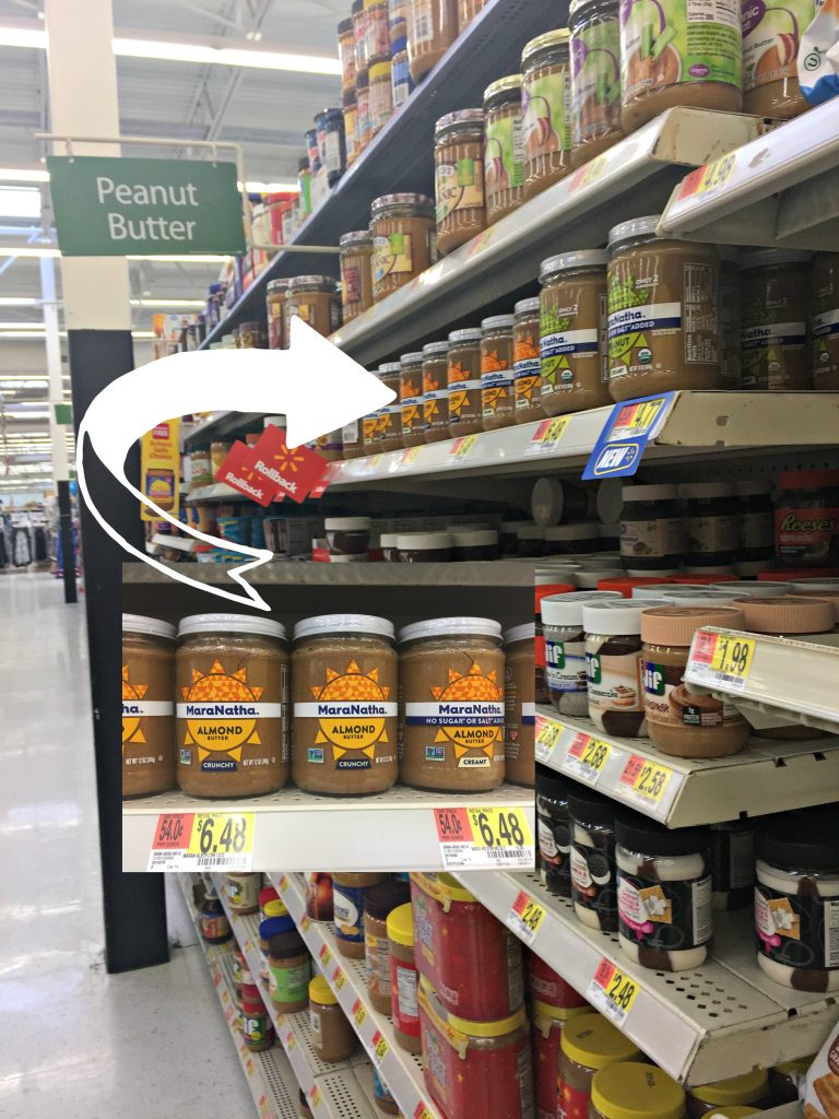 MaraNantha Almond Butter at Walmart