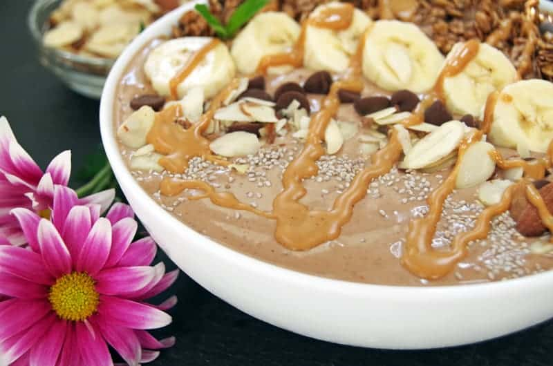 Smoothie Bowl Recipe with Almond Butter