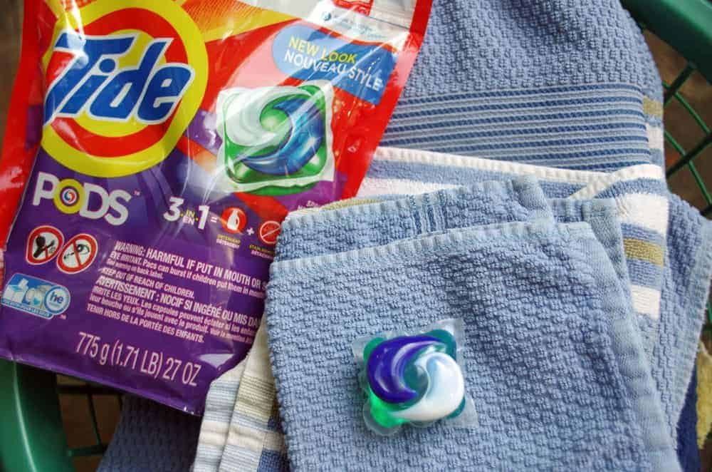 Washing Clothes in Cold Water with Tide PODS