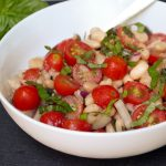 White Bean Cherry Tomato Salad