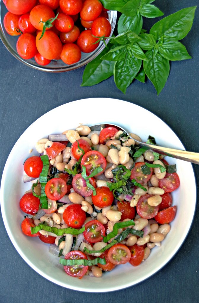 White Bean Cherry Tomato Salad Recipe