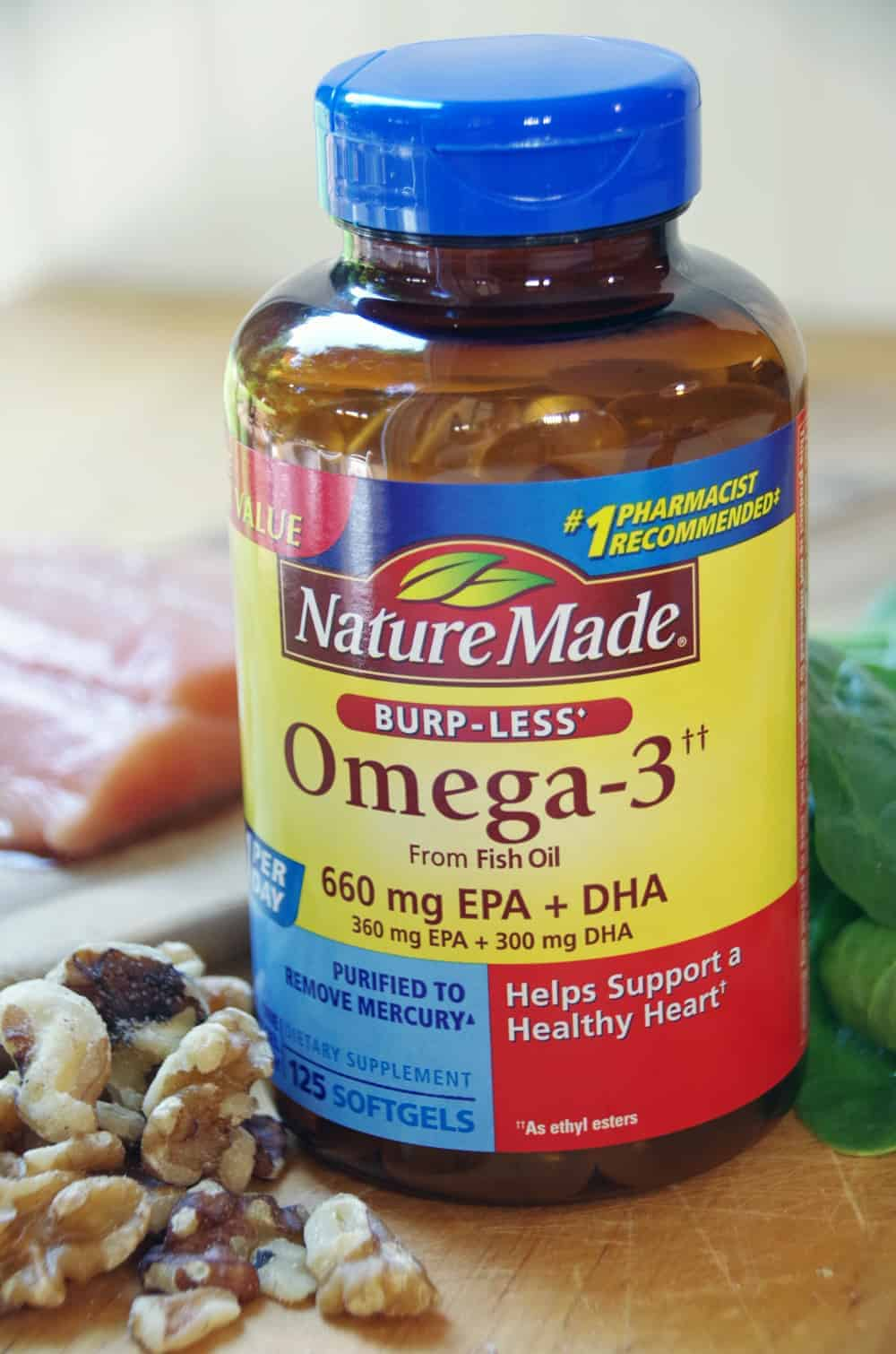 Confused about the difference between fish oil versus omega 3 fatty acids?  Here is an explanation that might help clear things up!