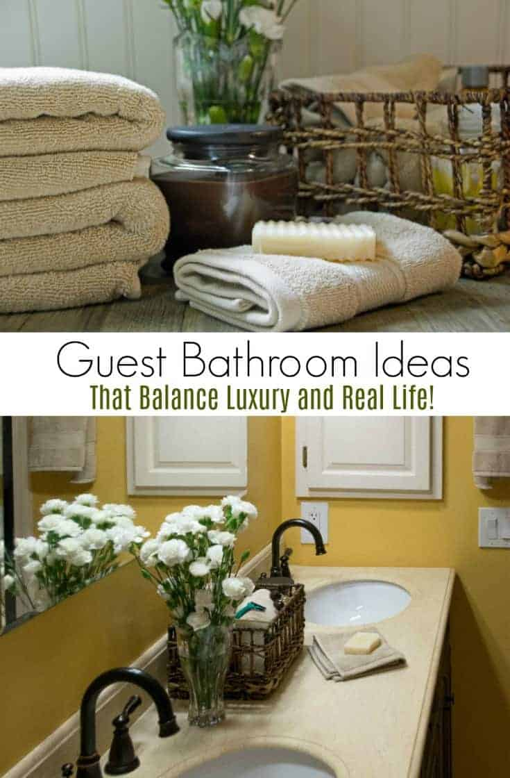 Need guest bathroom design tips? Here are some guest bathroom ideas that bridge the divide between perfection and a realistically well used space.