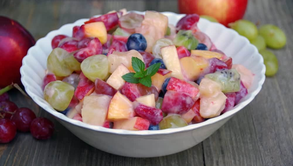 Easy Fruit Salad Recipe