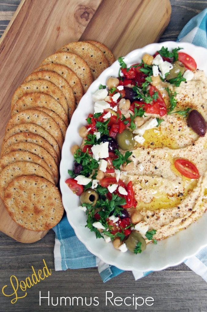 Looking for Homemade Hummus Dip Recipe? This one is delicious and makes a healthy lunch!