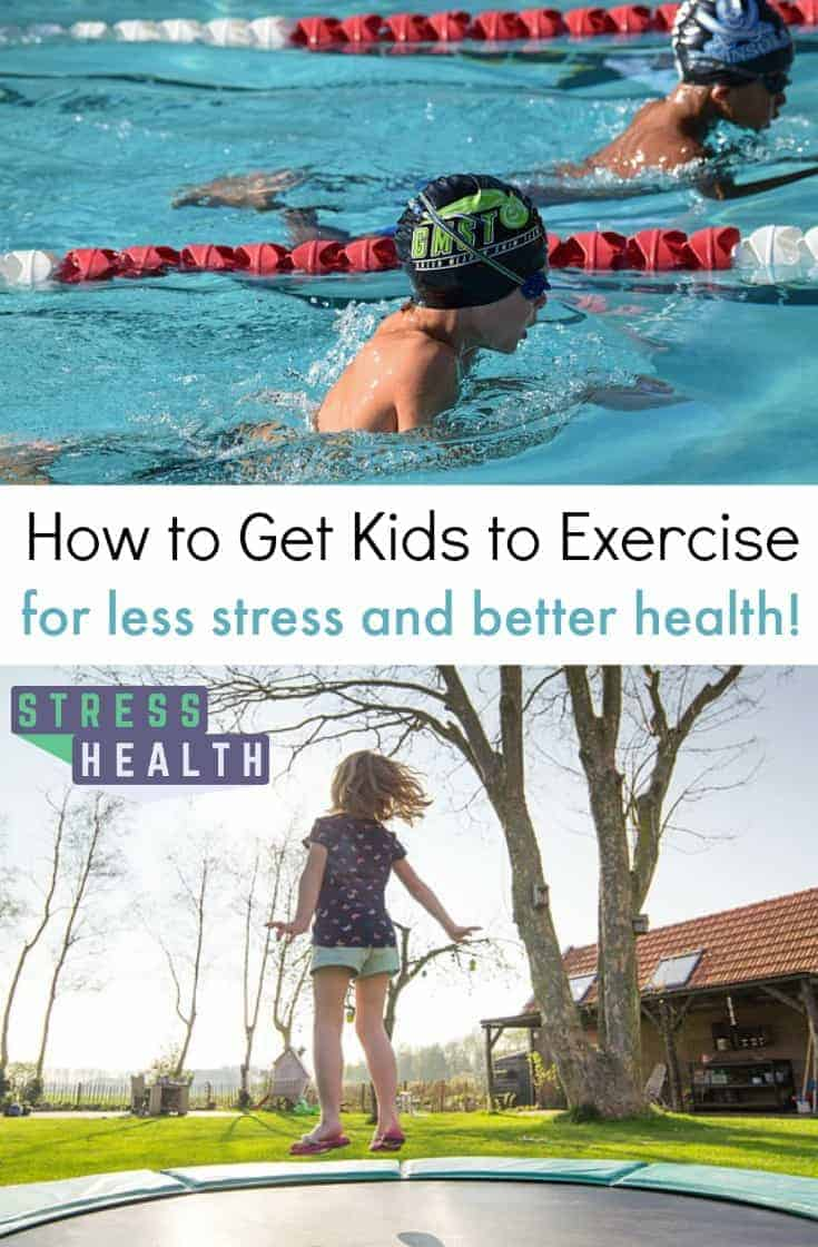Toxic stress is a real concern when it comes to the mental health of kids.  Learn how to get kids to exercise to improve childhood mental health.