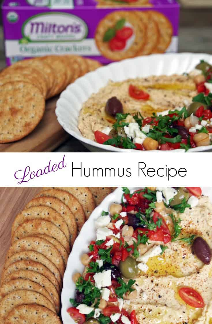 Making school lunches (or work lunches!) for you and your family?  This homemade hummus dip recipe is the perfect addition to your healthy lunch box.
