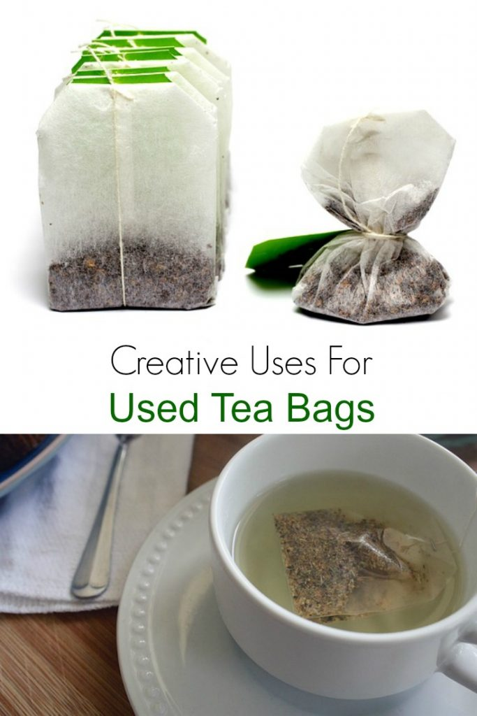 Creative Uses for Used Tea Bags