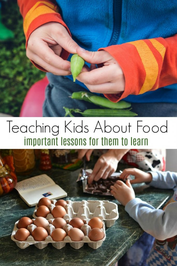 Things We Need to Teach our Kids About Food