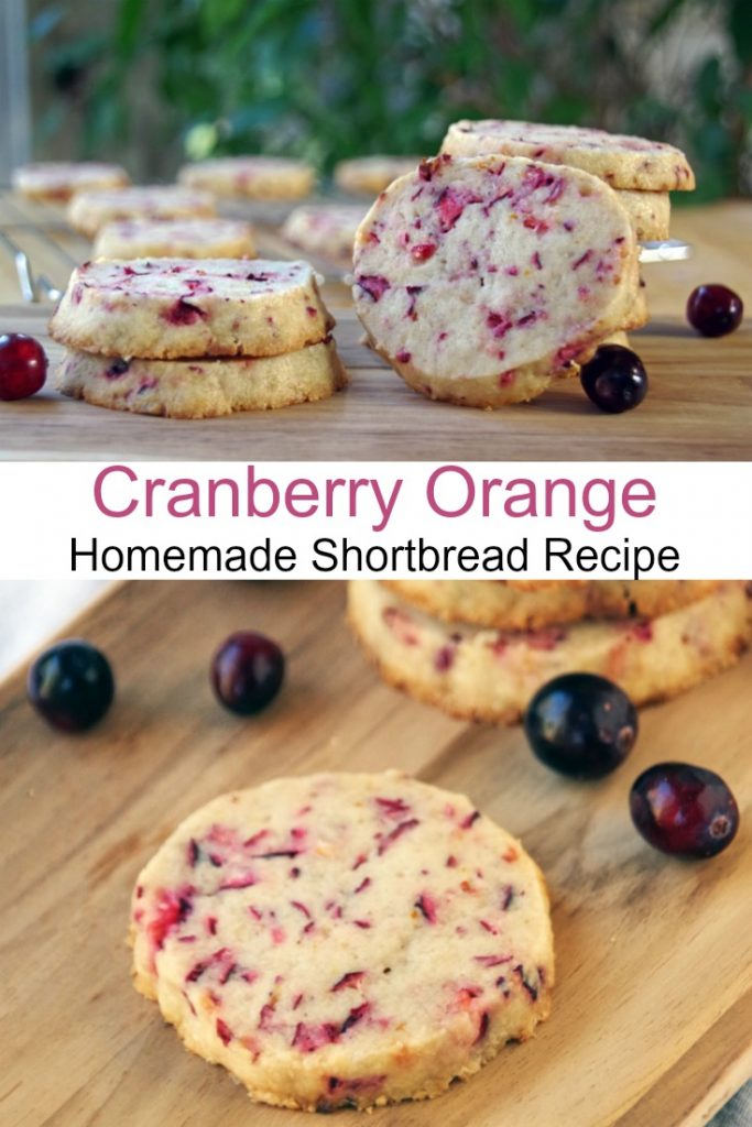 Cranberry Shortbread Cookie Recipe