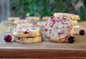 Cranberry Shortbread Recipe
