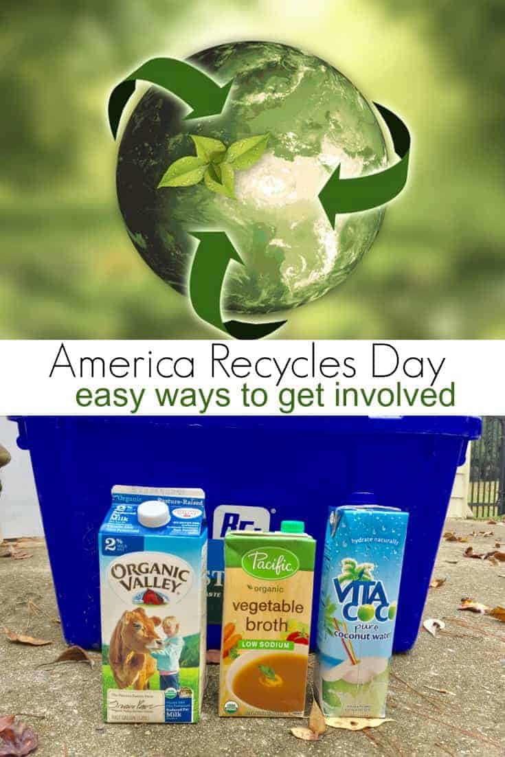 It is EASY to get started recycling and America Recycles Day is just the push you (or your friends and family) need to get started on reducing your carbon footprint! Here are some green activities you should try this month.