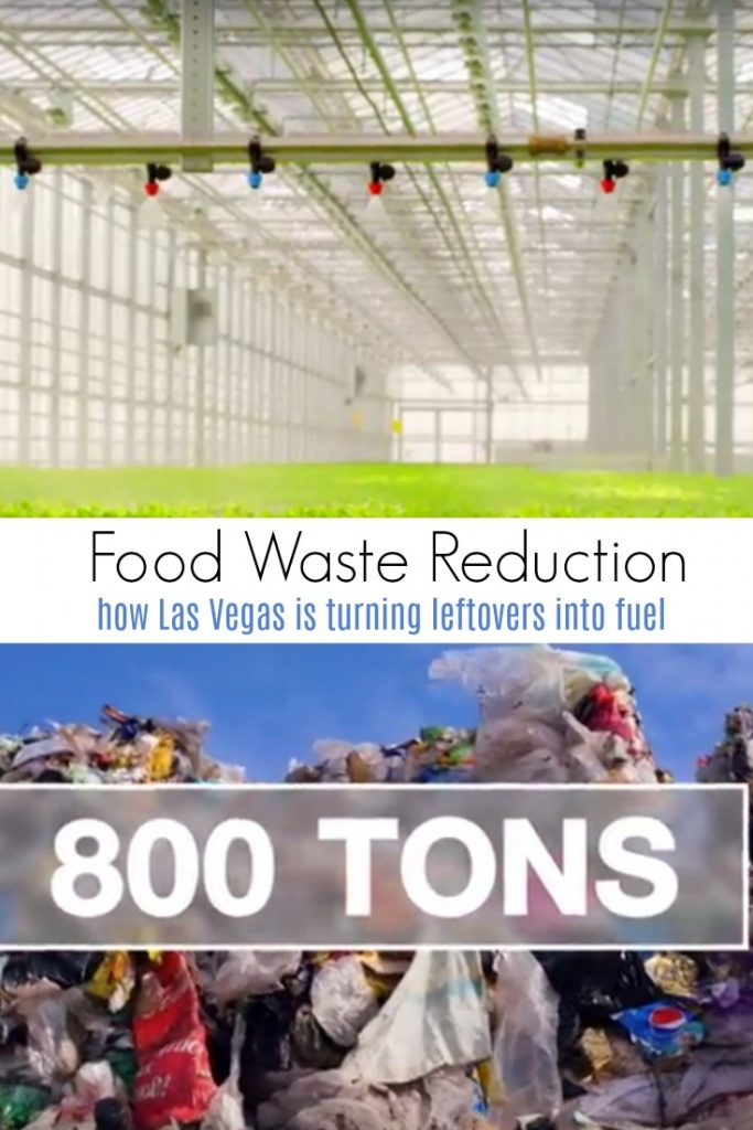 Food Waste Reduction and How Las Vegas is Turning Leftovers into Fuel