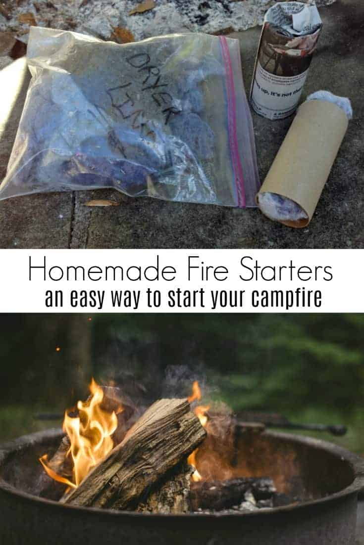 Are you a fan of camping or bonfires?  Looking for easy camping hacks? Turn a cardboard toilet paper tube into an easy way to start your next fire. Make DIY toilet paper roll fire starters in just a few minutes.