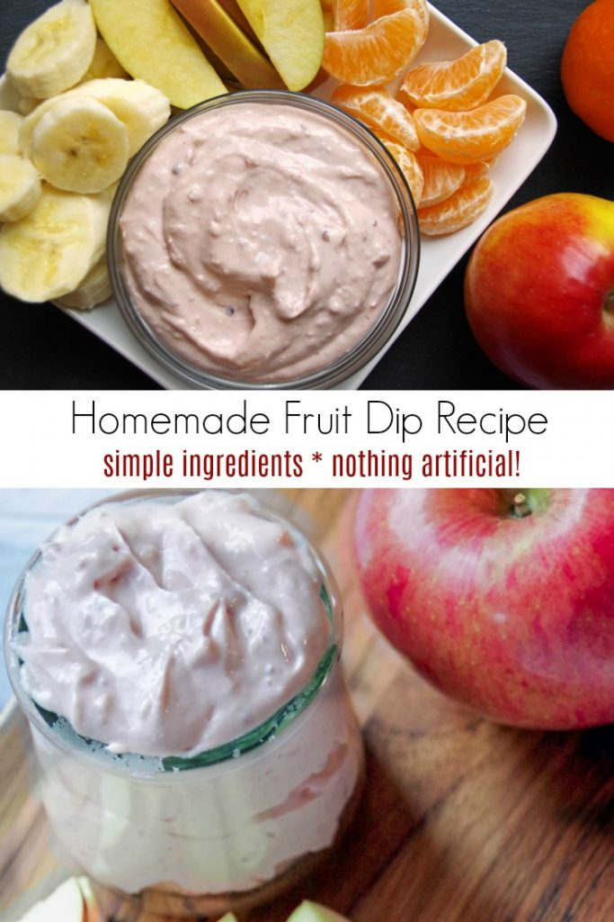 Easy Homemade Fruit Dip Recipe
