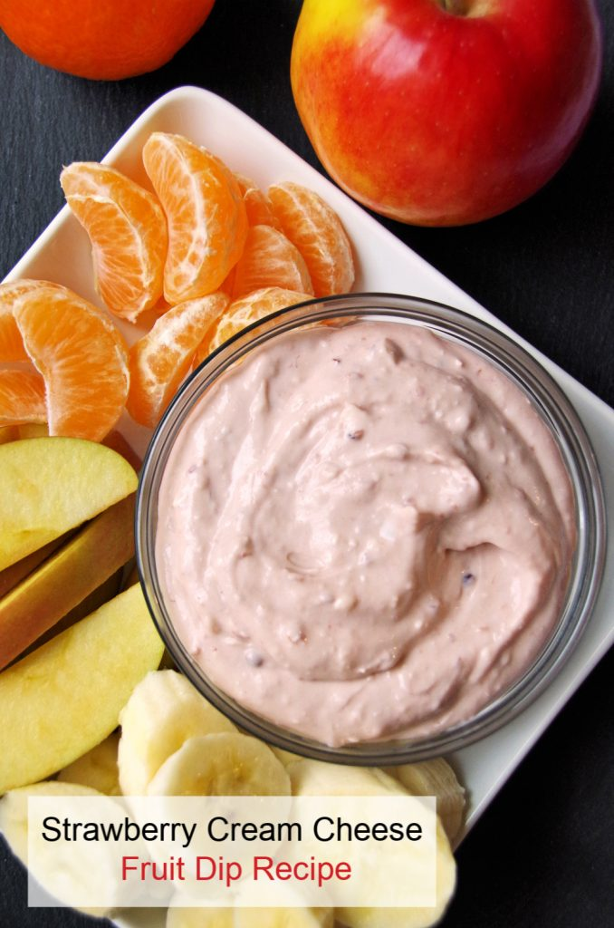 Strawberry Cream Cheese Fruit Dip Recipe