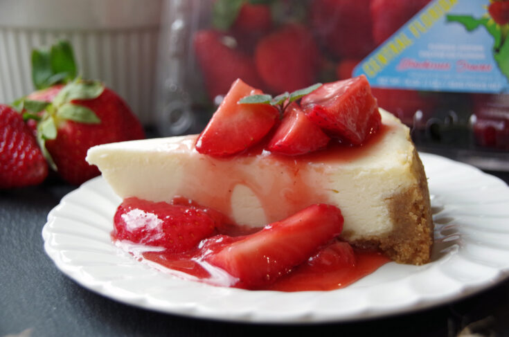 Strawberry Cheesecake Topping Recipe