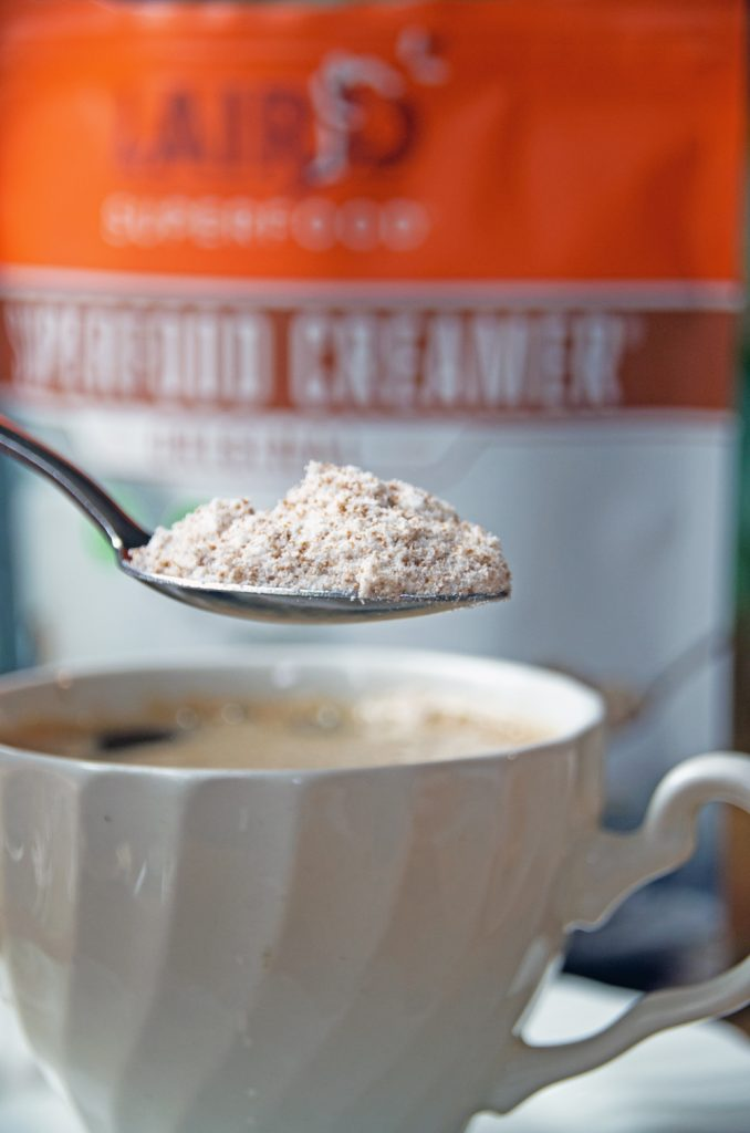 Coconut Creamer and Coffee