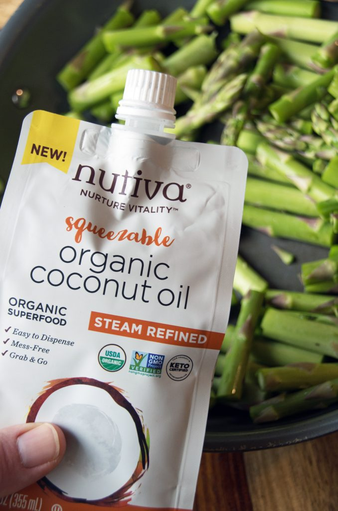 Coconut oil for sauteing