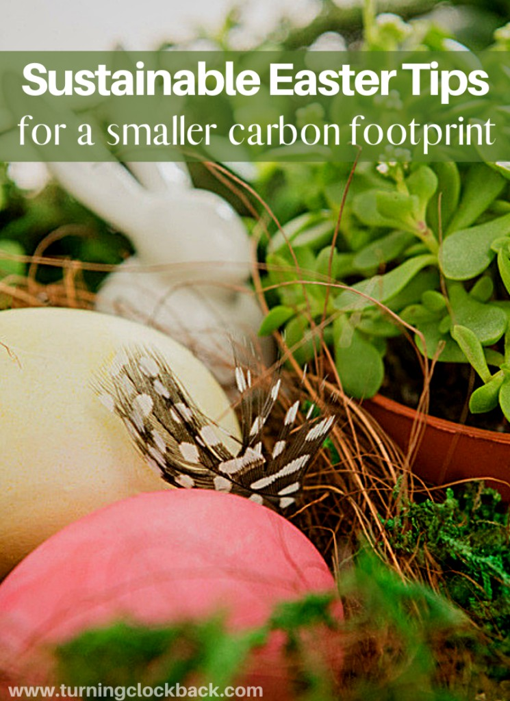 Sustainable Easter Tips for a smaller carbon footprint